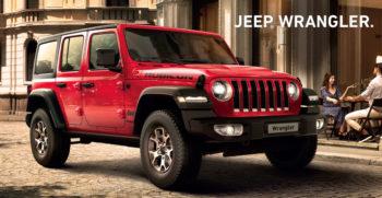 jeep wrangler AGOSTO 2019
