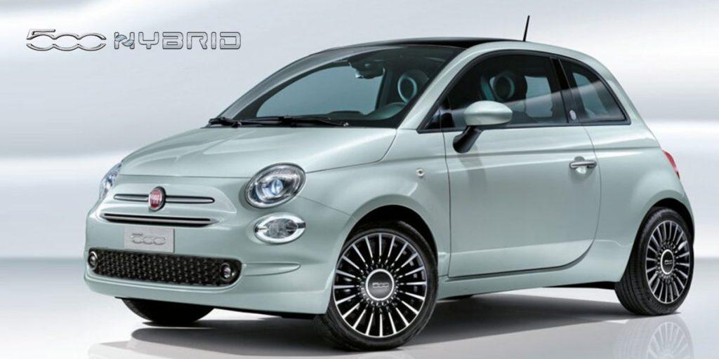 Nuova Fiat 500 Hybrid