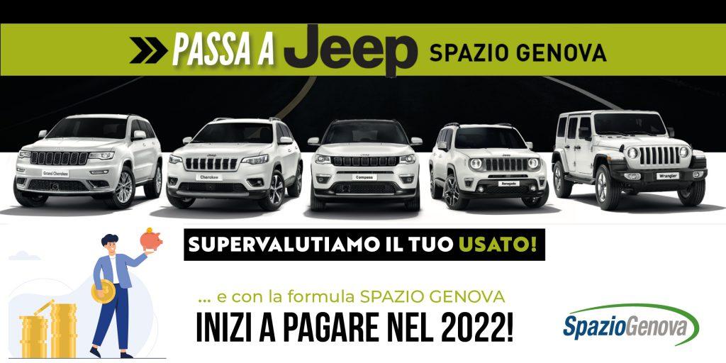 Passa a Jeep e supervalutiamo il tuo usato