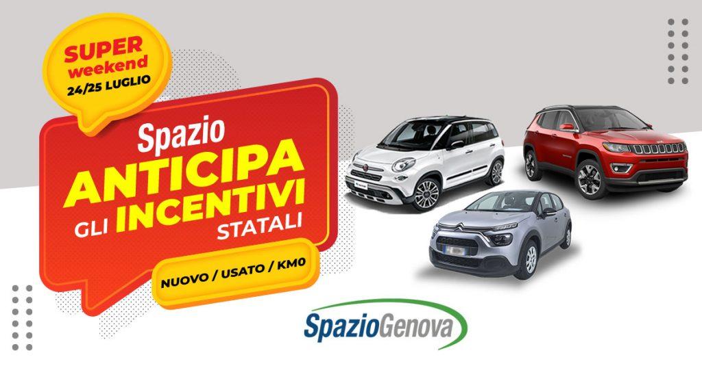 Spazio Genova anticipa gli incentivi statali